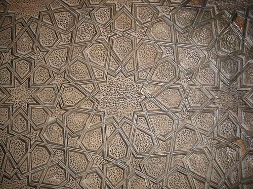 La mezquita del viernes en Yazd (Iran)