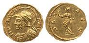 """Las dos monedas halladas del """"emperador"""" Carausius"""