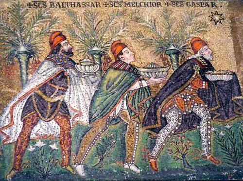 Mosaico de San Apolinar Nuovo (Ravena)