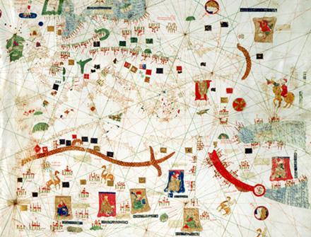 Carta de Gabriel de Vallseca de 1439