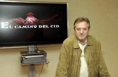 Manuel Galiana presentador de El Camino del Cid