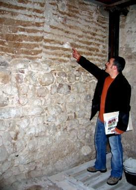 La muralla medieval de Caldes de Montbui