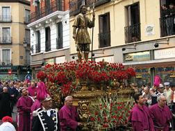 Procesión de San Isidro por las calles de Madrid