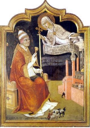 Calixto III. Un papa valenciano