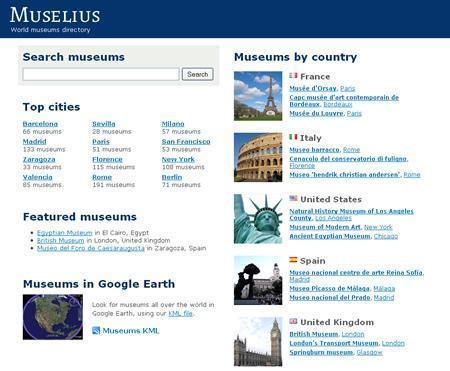 Muselius, directorio mundial de museos