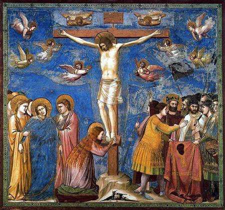 La Crucifixión - Giotto (1302-1305)