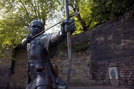 Robin Hood Memorial en Nottingham