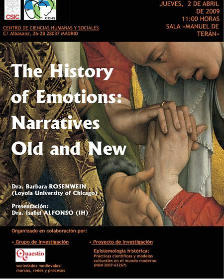 The history of emotions: narratives old and news