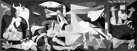 Guernica de Pablo Ruiz Picasso (1937)