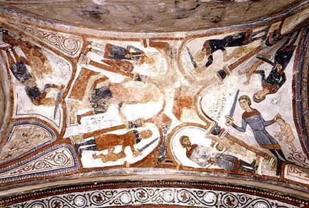 La Matanza de los Inocentes del Panteón de San Isidoro de León