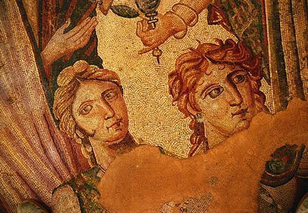 """Mosaicos de la villa romana de """"La Olmeda"""""""