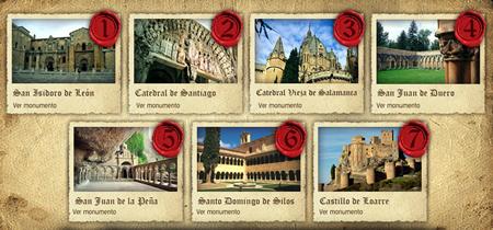 Ganadores 7 maravillas del Románico español