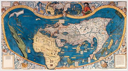 The Waldseemüller map (1507)